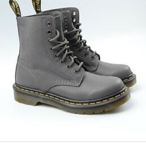 NWOT DR Martens Grey Air Wair Boots